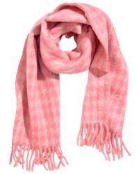 H&M - Jacquard-weave Scarf - Lyst