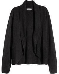H&M - Shawl-collar Cardigan - Lyst