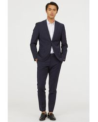H&M - Suit Trousers Skinny Fit - Lyst