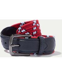 Hackett - Woven Textile Belt - Lyst