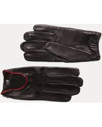 Hackett - Leather Driving Gloves - Lyst