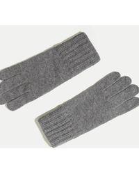 Hackett - Knit Touch Gloves - Lyst