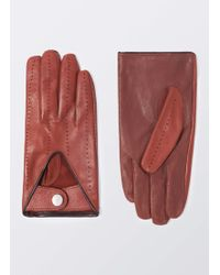 Hackett | Etched Piped Gloves | Lyst