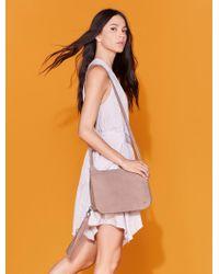 Halston - Printed Dress With Sash - Lyst