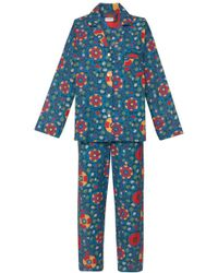 Rhode Resort - Berto Pajamas In Blue Multiflower - Lyst