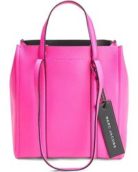 Marc Jacobs - The Tag Tote 27 Leather Bag - Lyst