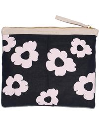 Lizzie Fortunato - Oversized Pouch In Pink Daisy - Lyst