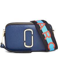 Marc Jacobs - Snapshot Bag In Blue Sea Multi - Lyst
