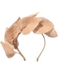 Gigi Burris Millinery - Jardin Headband In Natural - Lyst
