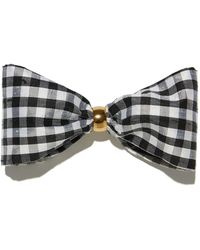 Lizzie Fortunato - Bow In Gingham - Lyst