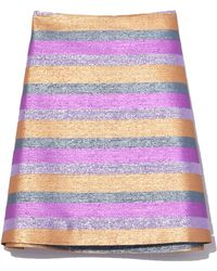 Vivetta - Keid Skirt In Multi Lilac - Lyst