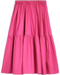 Stella McCartney - Tanya Skirt In Bright Pink - Lyst