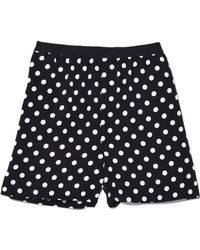 Marc Jacobs - Boxer Shorts With Piping In Black/white - Lyst