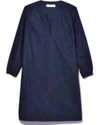La Robe | Chelsea Poplin Dress In Dusk | Lyst