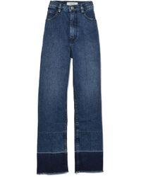 Rachel Comey | Slim Legion Pant In Classic Indigo | Lyst