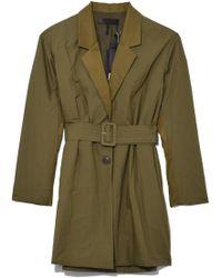 Rag & Bone - Ingrid Coat In Dusty Olive - Lyst