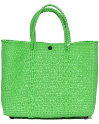 Truss - Small Tote In Green - Lyst