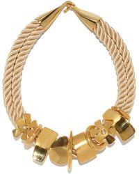 Lizzie Fortunato - Daisy Treasure Necklace - Lyst