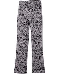 Rag & Bone - Hana Pant In Grey Cheetah - Lyst