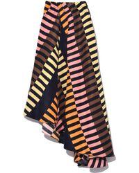 Apiece Apart - Turkanna Asymmetric Skirt In Majorelle - Lyst