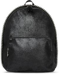 Stella McCartney - Falabella Mini Backpack In Black - Lyst