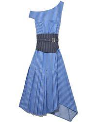 Sea - Blue Multi Belted Tank Dress - Lyst