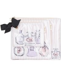 Harrods - Perfume Bottles Cosmetic Bags (set Of 3) - Lyst