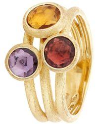 Marco Bicego - Jaipur Triple Stone Ring - Lyst