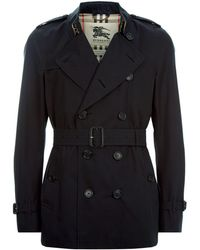 Burberry - Kensington Short Heritage Trench Coat - Lyst