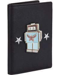 MCM - Roboter Leather Passport Cover - Lyst