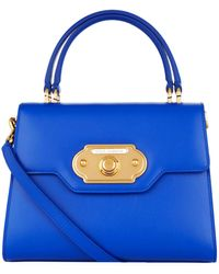 Dolce & Gabbana - Medium Leather Welcome Bag - Lyst