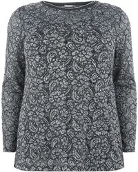 Elena Miro - Embellished Sequin Lace Top - Lyst