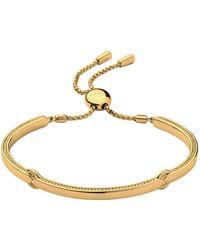 Links of London   Narrative Yellow Gold Bracelet   Lyst