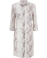 Heidi Klein - Montserrat Mini Shirt Dress - Lyst