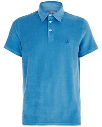 Vilebrequin - Pavois Terry Cotton Polo Shirt - Lyst