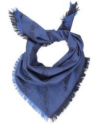 Vivienne Westwood - Wool And Silk Orb Scarf - Lyst