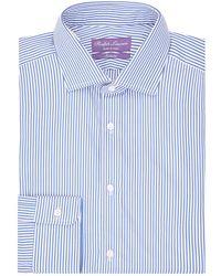 d1351ee268 Ralph Lauren Purple Label Aston Checked Shirt in Purple for Men - Lyst