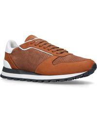 Brunello Cucinelli - Suede Crono Sneakers - Lyst