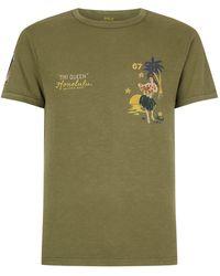 Polo Ralph Lauren - Hula Girl Motif T-shirt - Lyst