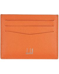 Dunhill - Leather Card Holder - Lyst