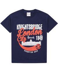 Harrods - Knightsbridge T-shirt - Lyst