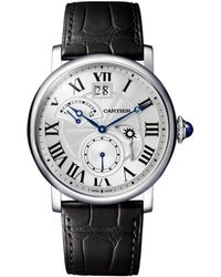 Cartier - Stainless Steel Rotonde De Watch 42mm - Lyst