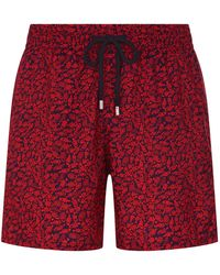 Vilebrequin - Mahina Fish Print Packable Swim Shorts - Lyst