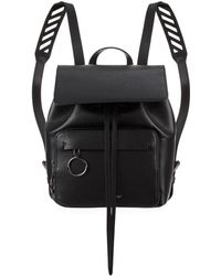 Off-White c/o Virgil Abloh - Leather Chevron Backpack - Lyst