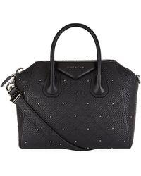 Givenchy - Small Embossed Antigona Tote Bag - Lyst