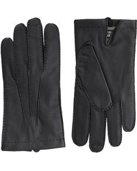 Harrods - Touchscreen Leather Glove - Lyst