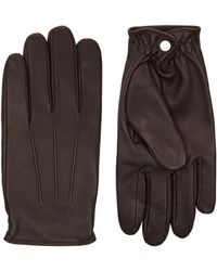 Sandro - Classic Gloves, Brown, 1 - Lyst