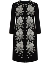 Andrew Gn - Pearl Embellished Coat - Lyst