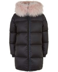 7a28755159a Mr   Mrs Italy - Reversible Fur Trim Down Coat - Lyst