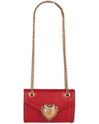 Dolce & Gabbana - Mini Devotion Shoulder Bag - Lyst